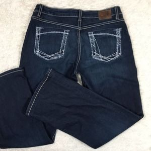 BKE Buckle Denim Kate Dark Wash Jeans *Hemmed